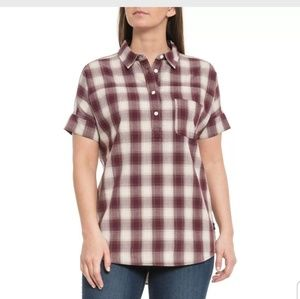 The North Face Tanami plaid shirt